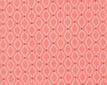 Nest Fabric by Lella Boutiquee for Moda, #5063-20, Rose - IN STOCK