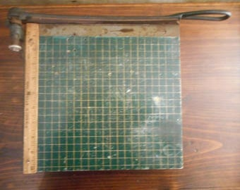 Vintage Old School 10 in.Paper Cutter