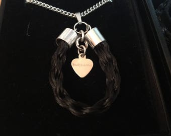 Horsehair necklace