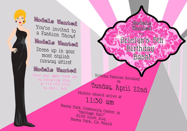 🔎zoom  Birthday Invitation Model