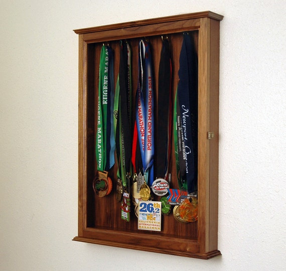 Gentil Sports Trophy Display Hanging Wall Cabinet