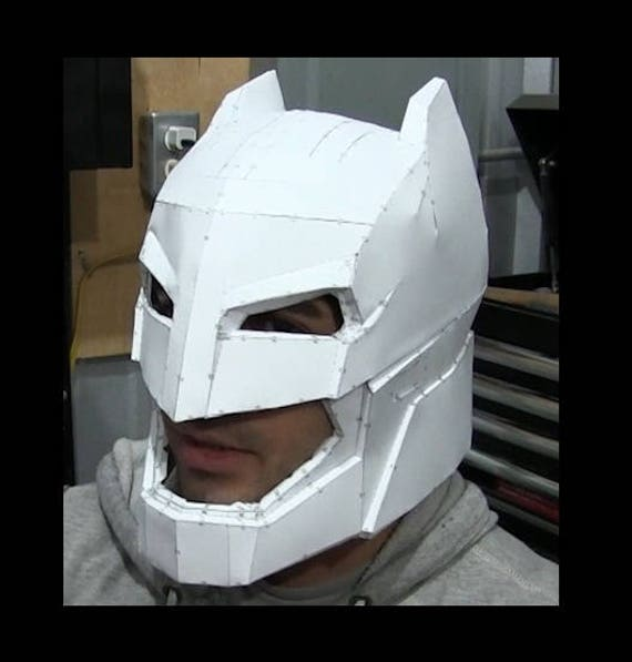 Batman V Superman Dawn Of Justice Armor Costume PAPER & FOAM