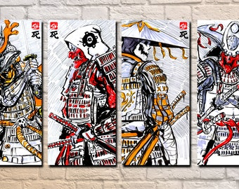 Skeleton Samurai 04 - 11 x 17 Prints