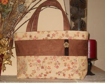 Sac à main, Sac cabas, sac style japonais, Sac shopping, sac femme, sac week end, sac tissu, sac suédine