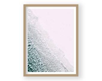Coastal Decor, Sea Print, Beach Decor, Sea Photography, Beach Photography, Coastal Wall Art, Beach Wall Art, Gray Wall Decor, Coastal Prints