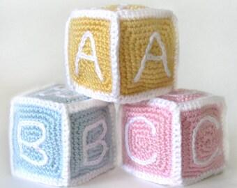 Baby Blocks - PDF Crochet Pattern - Instant Download