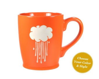 Rain Cloud Mug - Choose Your Cup Color