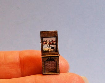 1/144th inch scale miniature-Fireplace