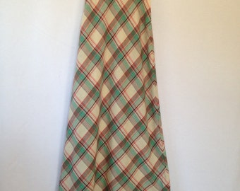 1970s holiday maxi skirt by the gathering for Sears size 10