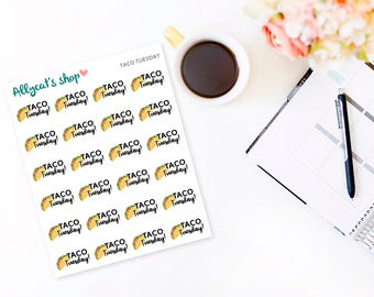 Taco Tuesday - Planner Stickers
