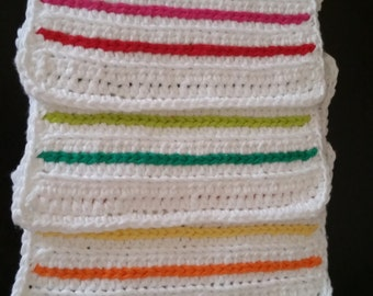 Crochet Dishcloths - 4 pack