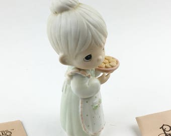 Vintage Precious Moments May You Have The Sweetest Christmas Figurine 15776