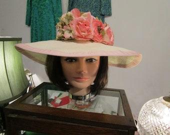 Vintage 1990s Lord and Taylor Ladies Hat