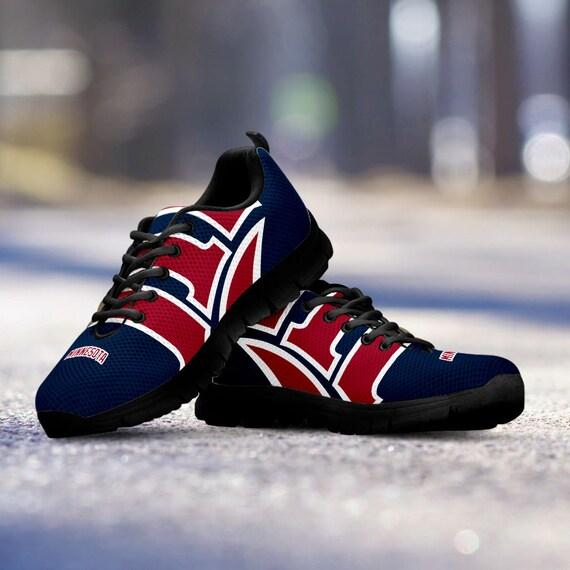 Trainers Twins Shoes Mens Unofficial Fan Custom Sneakers Ladies Minnesota Sizes Baseball Black cA4Hpaww8q