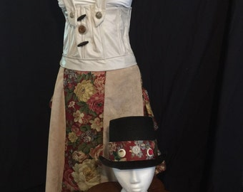 Steampunk inspired cosplay costume