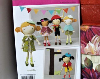 De-Stashing Sale: Dolls and Clothes Sewing Pattern Simplicity Pattern 1900 Brand New
