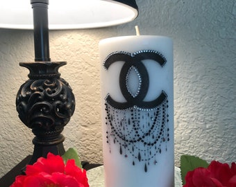 Coco Chanel Inspired Candle
