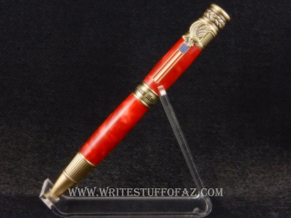 American Patriot Twist Pen, Parker Refill