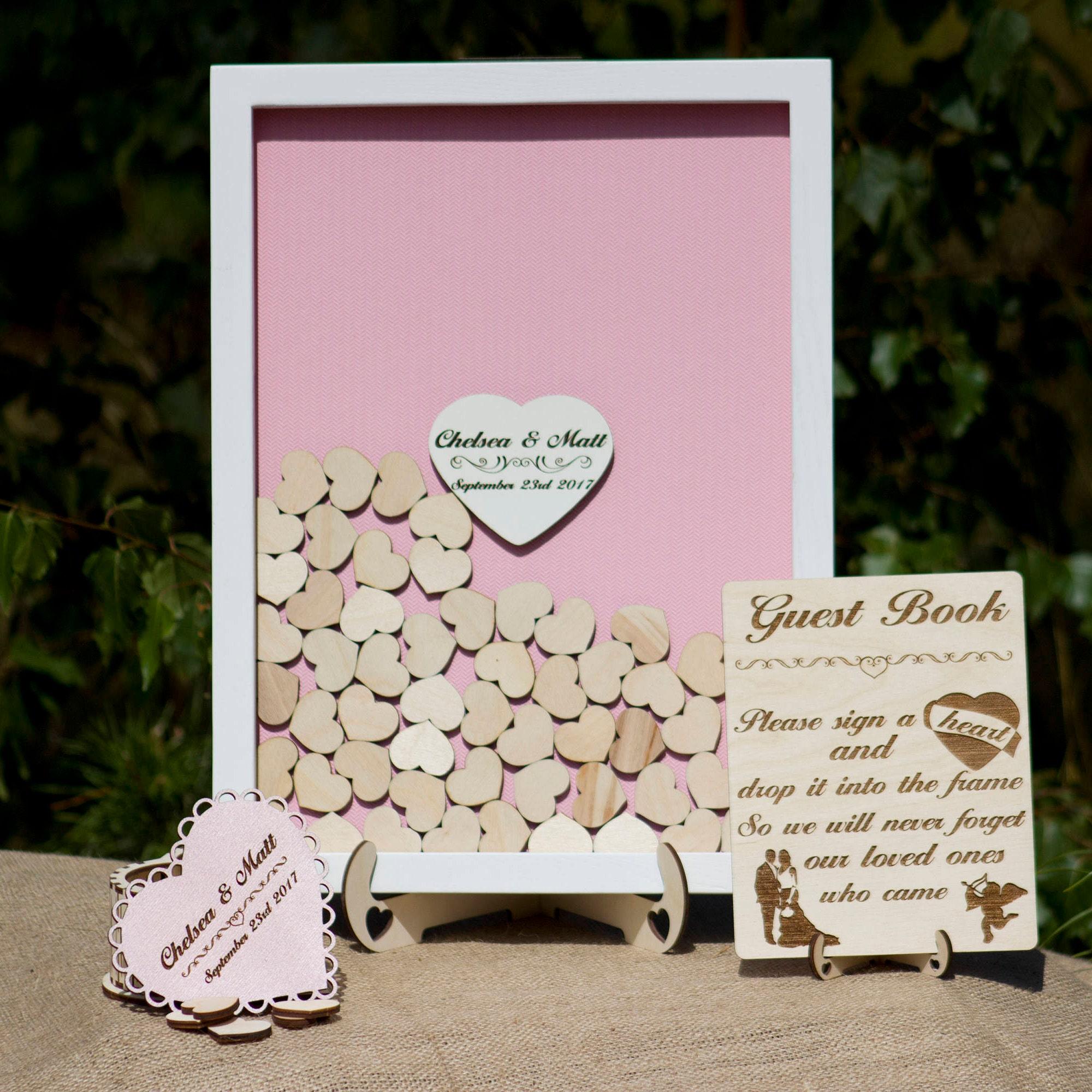 Bridal Shower guest book alternativeBridal shower gift for