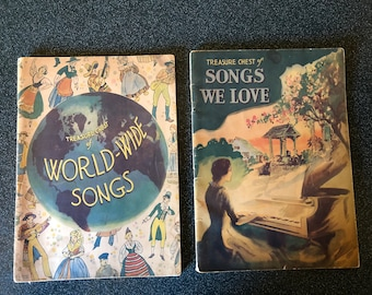 Two Treasure Chest of songs books