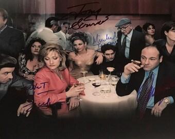 Signed Sopranos 8 x 10 Photo
