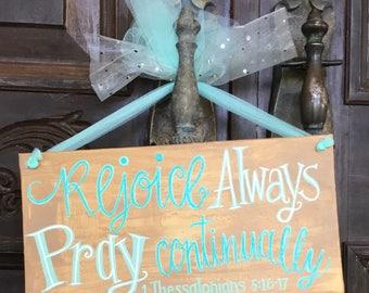 Rejoice & Pray