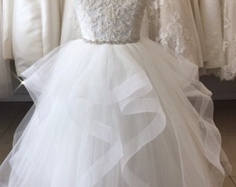 Lace and Tulle Communion and Flower Girl Dress