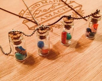 Micro plastic awareness necklace