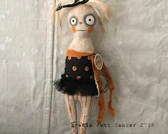 Halloween Witch #2 OoAK Art doll
