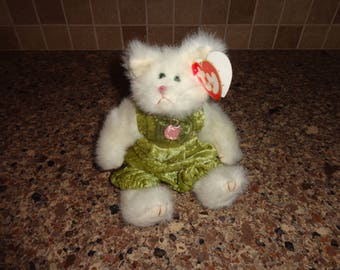 RARE!  Retired Ty Collectible Beanie Baby 1993 Katrina the Cat MWMT