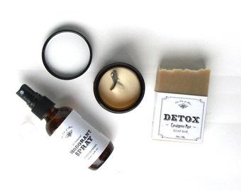 Natural Deodorant Starter Kit