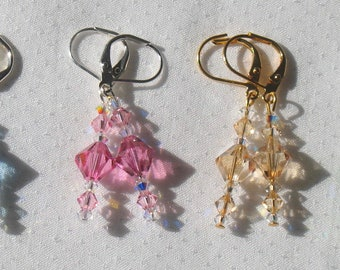 Premiere Collection - Swarovski  Crystal Earrings