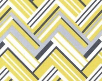 Michael Miller Virgina Citron Flannel Fabric, 1 yard