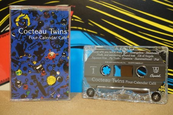 Four-Calendar Café by Cocteau Twins Vintage Cassette Tape