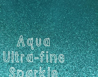Personalized Blue Glitter Banner