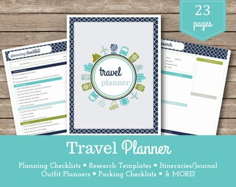 Travel Planner / Travel Organizer / Vacation Planner / Holiday Planner / Travel Organizer / Travel Budget / Vacation Planning