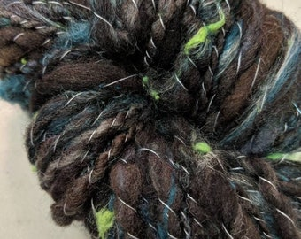 Swamp Thing Chunky Artistic Yarn weaving Crochet