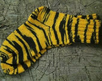 Knitted socks for women, wool leg warmers, handmade warm socks