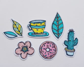 Spring Tea Party Sticker Pack
