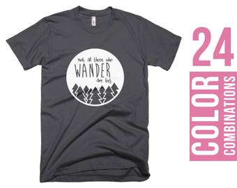 LONG SLEEVE Not All Those Who Wander Are Lost