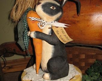 Old John the Rabbit shelf sitter