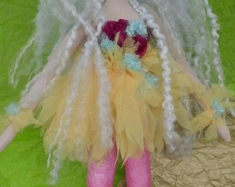 Faerie Ring Dancer Fairy Art Doll