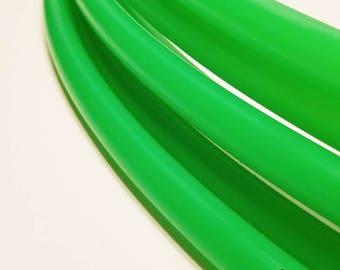 "Polypro hoop--UV Green 5/8""--advanced"