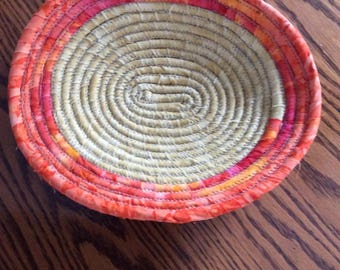 Fabric Coiled Basket