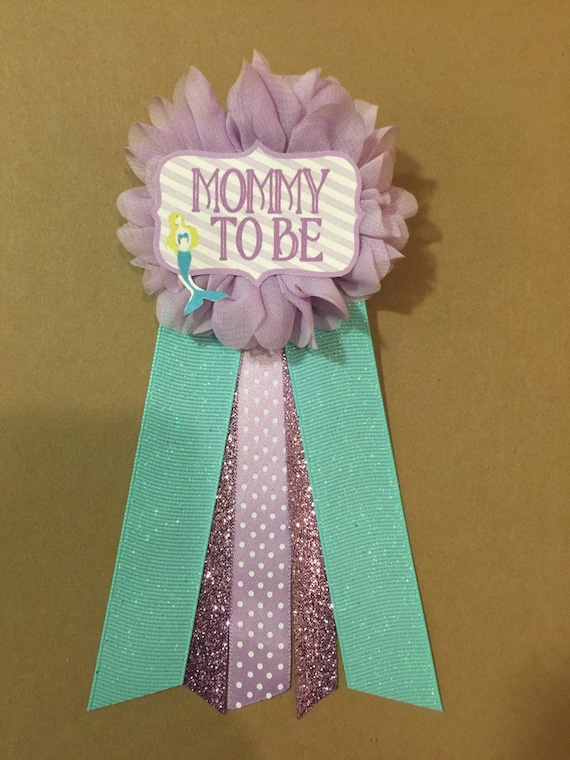 how to make ribbon pins for baby shower