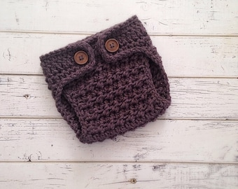 Crochet Diaper Cover, Crochet Button Diaper Cover, Crocheted Newborn Diaper Cover, Baby Boy Diaper Cover, Baby Diaper Cover, MADE 2 ORDER