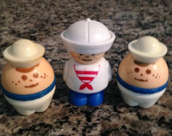 Three Toy Sailors by Shelcore and Little Tikes