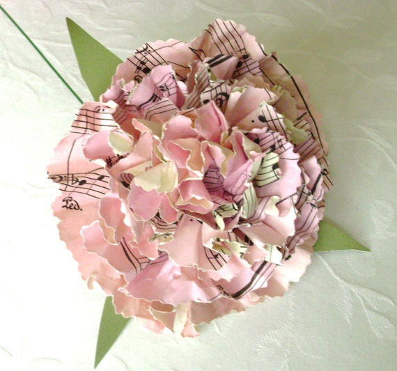 Book page paper flower pink carnation can be jane austen mightylinksfo