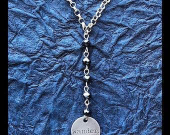 Wander Y Necklace