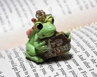 Frog Prince Pendant